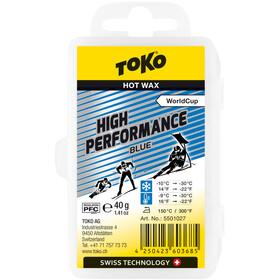 Toko High Performance Cera de Carreras Azul 40g
